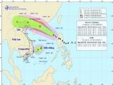 Bão Pakhar giật cấp 11, xuất hiện thêm áp thấp nhiệt đới