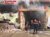 Tổng kiểm tra kho chứa hàng tại Cảng Hà Nội sau vụ cháy