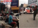 Hà Nội: Bị CSGT dừng xe, tài xế taxi đưa giấy xác nhận phơi nhiễm HIV