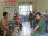 Hòa Bình: 2 công an viên bị chém trọng thương