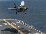 Mỹ điều tàu đổ bộ, chiến đấu cơ tối tân đến gần Triều Tiên
