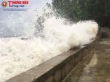 Nghệ An: Nhiều tuyến đê biển có thể bị tàn phá do cơn bão số 10