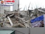 Công bố nguyên nhân sập công trình trường mầm non ở Hà Nội