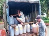 Nghệ An: Phát hiện vụ làm giả hàng nghìn lít dầu ăn Tường An