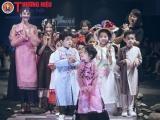 Trương Quỳnh Anh cùng bé Xushi trình diễn áo dài độc đáo