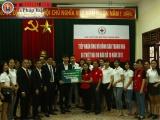 Danko Group trao 58 triệu đồng ủng hộ người dân bị thiệt hại do bão số 10