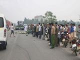 Hà Tĩnh: Xe đầu kéo tông chết hai người đi xe máy