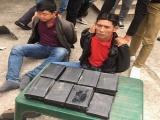 Bắc Ninh: Bắt hai đối tượng giấu 15 bánh heroin trong thân xe máy