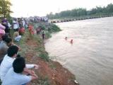 Bình Định: Nữ công nhân thủy lợi bị lũ cuốn mất tích