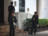 Hà Nội thắt chặt an ninh trước giờ đón Tổng thống Mỹ Donald Trump