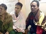 Cứu sống ba ngư dân bị chìm tàu trên biển Nghệ An