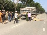 TP. HCM: Va chạm với xe ben, hai thanh niên tử vong