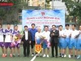 'Giao lưu bóng đá, gây quỹ từ thiện' - FC Ngôi sao Việt Nam chia sẻ yêu thương tới những bệnh nhân nghèo Tỉnh Vĩnh Phúc