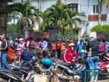 Không được trả lương Tết, 1.000 công nhân bao vây công ty