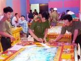 Kiên Giang: Triệt xóa 2 tụ điểm đánh bạc núp bóng game bắn cá