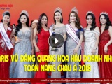 Cựu người mẫu Paris Vũ xuất sắc đăng quang Hoa hậu Doanh nhân Toàn năng Châu Á 2018