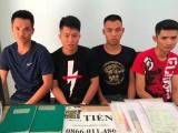 Bắt nhóm thanh niên từ Hải Phòng vào Đà Nẵng cho vay nặng lãi