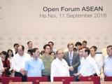 Chính thức diễn ra Hội nghị Diễn đàn Kinh tế Thế giới về ASEAN 2018