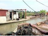 Hải Phòng: Bắt giữ 2 tàu khai thác cát trái phép trên sông Thái Bình
