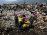 Số người chết do thảm họa ở Indonesia tăng lên 1.558 người