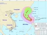 Bão Yutu đi vào Biển Đông, trở thành cơn bão số 7