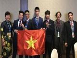 Đoàn Việt Nam lần đầu giành HCV Olympic Thiên văn học quốc tế