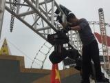 Thanh Hóa: Lắp màn hình 500 inch phục vụ người dân xem chung kết bóng đá
