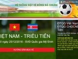VFF mở bán vé trận giao hữu Việt Nam gặp Triều Tiên