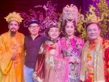 Trịnh Kim Chi hé lộ hình ảnh lộng lẫy khi hóa thân vào vai Thiên Hậu trong Táo Quân của HTV9