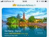 Vietnam Airlines ra mắt ứng dụng di động mới hỗ trợ hành khách