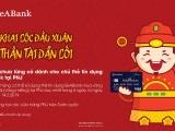Mua vàng ngày Vía Thần tài bằng thẻ tín dụng SeABank