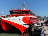 Tàu Côn Đảo Express 36 tạm dừng hoạt động vì gặp sự cố