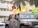 Các hoa hậu, á hậu gây tắc nghẽn 2km đường tại TP Buôn Ma Thuột