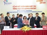 Tổng cục Du lịch ký kết Biên bản hợp tác xúc tiến, quảng bá du lịch với Công ty Cổ phần Hàng không Vietjet