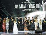Hà Anh Tuấn nhận cú đúp Giải thưởng Âm nhạc Cống Hiến 2019