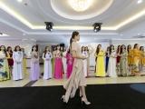 Á hậu Mâu Thủy xuất hiện rạng ngời với vai trò ban giám khảo Hoa hậu Bản sắc Việt toàn cầu 2019
