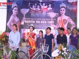 Hoa hậu Doanh nhân Nguyễn Thị Diệu Thúy trở về tri ân quê hương