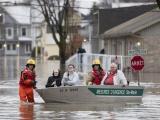 Lũ lụt trên diện rộng ở Canada, trên 1.000 người phải sơ tán