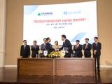 Hòa Bình ký kết thỏa thuận phát hành riêng lẻ và hợp tác chiến lược với Hyundai Elevator