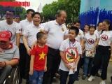 """Hà Nội: Hàng chục nghìn người đi bộ kêu gọi hành động """"Đã uống rượu bia không lái xe'"""