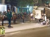 TP. HCM: Đâm vào máy trộn bê tông, hai thanh niên tử vong