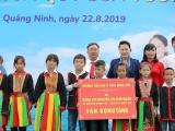 Trẻ em Quảng Ninh đón nhận ngôi trường mới và hơn 71.000 ly sữa từ Quỹ sữa Vươn cao Việt Nam