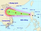 Dự báo thời tiết ngày 28/8: Bão Podul đi vào Biển Đông, hướng thẳng Bắc Trung Bộ