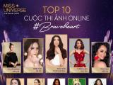 Lộ diện top 3 thí sinh được bình chọn cao nhất Miss Universe Online