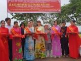 Diễm My 9X chia sẻ niềm vui khi cây cầu từ thiện mang tên mẹ đã hoàn thành