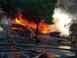 Hải Phòng: Cháy dữ dội ở tòa nhà trung tâm điện máy Hoàng Gia