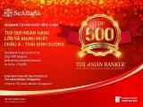 SeABank lọt Top 500 ngân hàng lớn và mạnh nhất châu Á – Thái Bình Dương