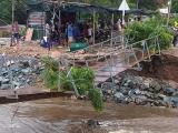 Khánh Hòa: Cầu sập, hơn 300 hộ dân bị cô lập