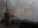 Cháy lớn dữ dội, thiêu rụi xưởng nhựa tại Hà Nội