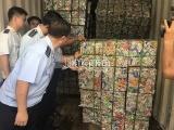Cục Hải quan TPHCM ngăn chặn lô hàng xuất khẩu gồm 4 container phế liệu luồng Xanh
